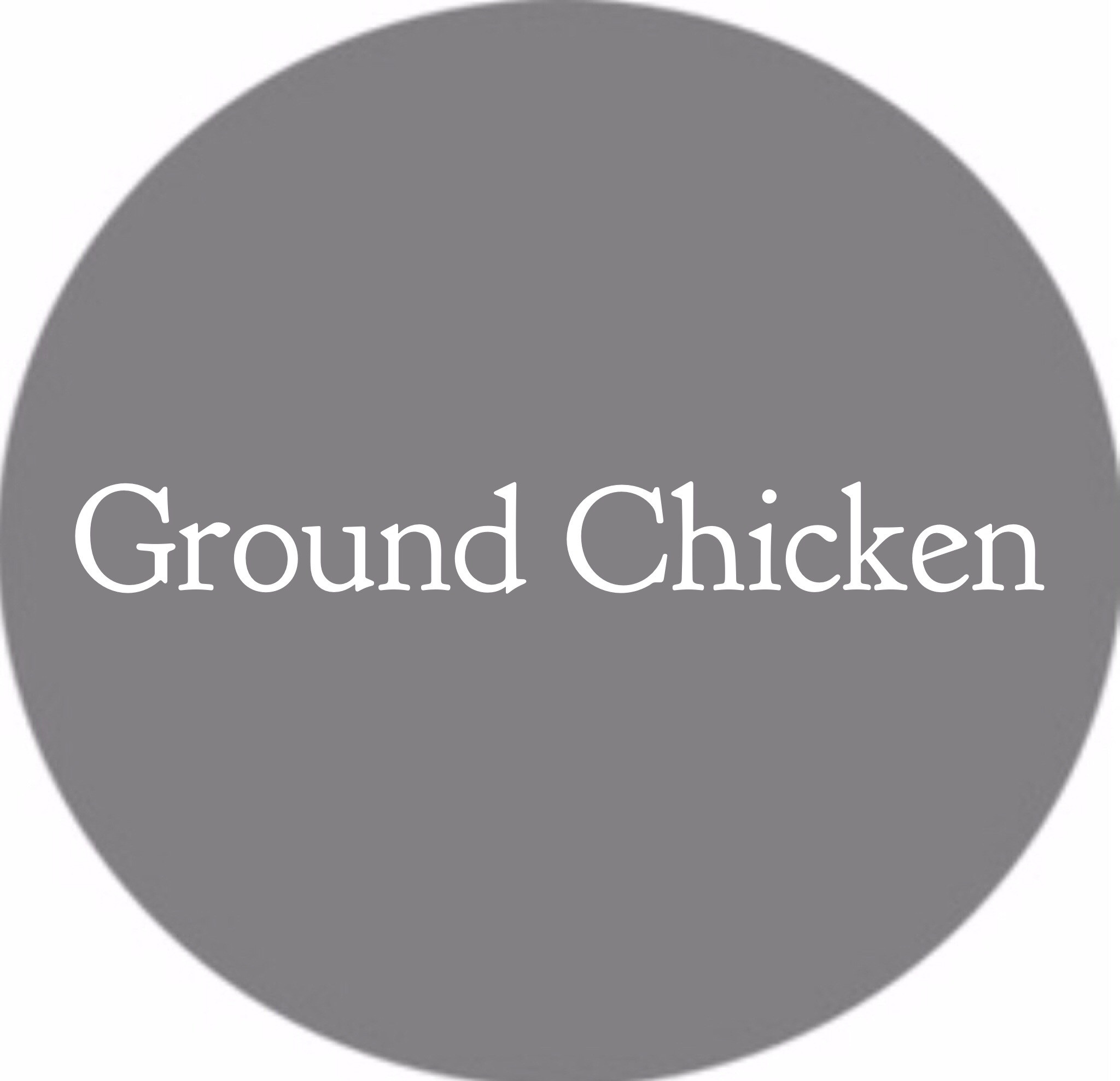 Ground Chicken
