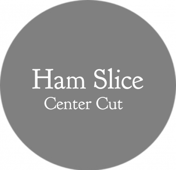 Ham Slice, Center Cut