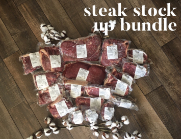 Steak Stock Up Bundle
