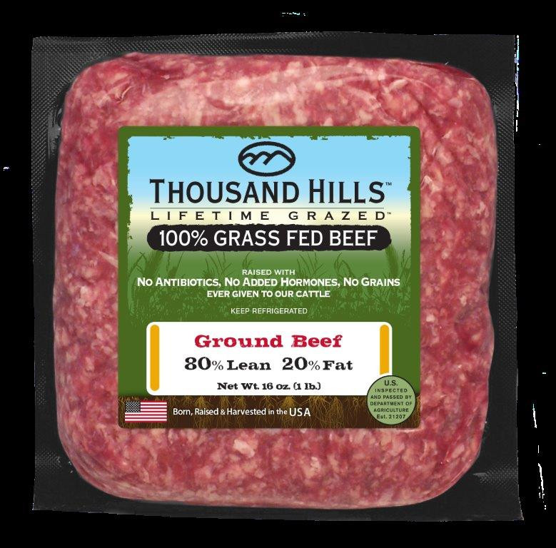 80% Lean Ground Beef Brick
