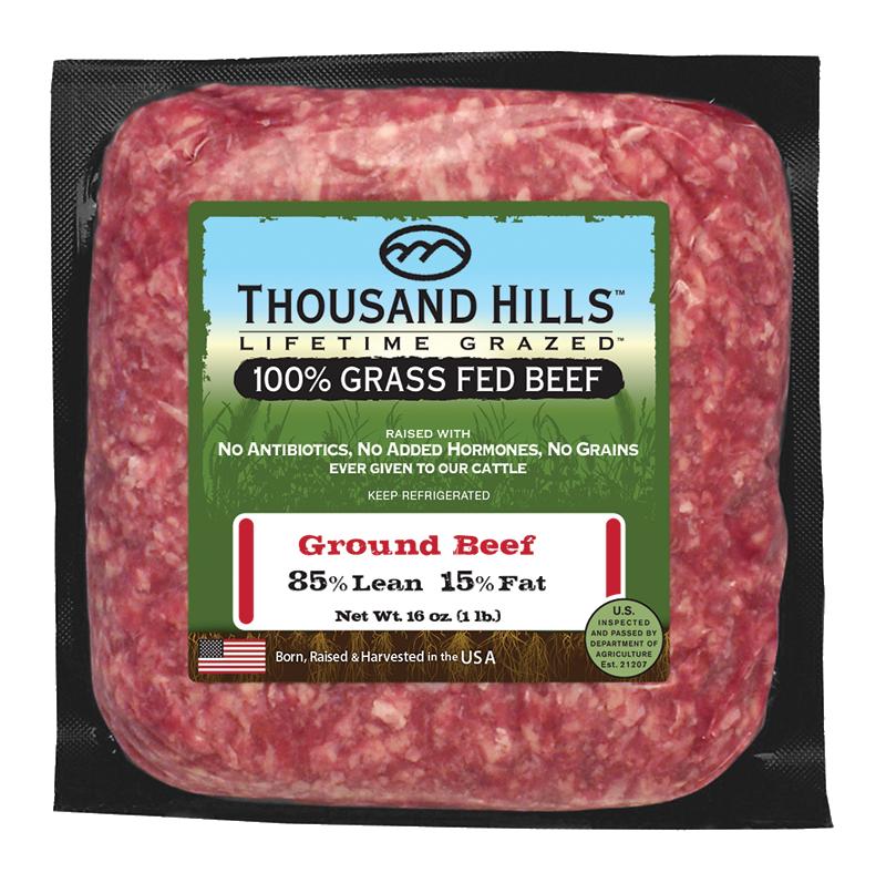 85% Lean Ground Beef Bricks - Case