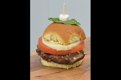 Caprese Stuffed Burger