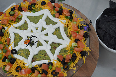 8 Layer Spider Taco Dip