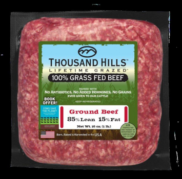 85% Lean Ground Beef Brick