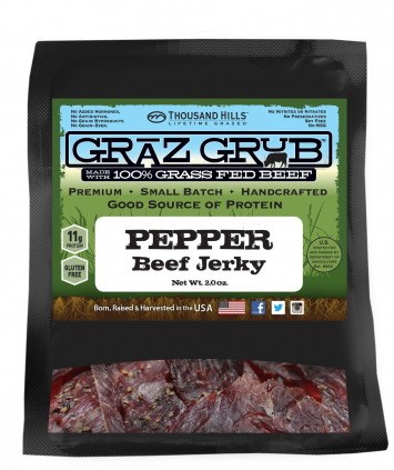 Pepper Beef Jerky - Case
