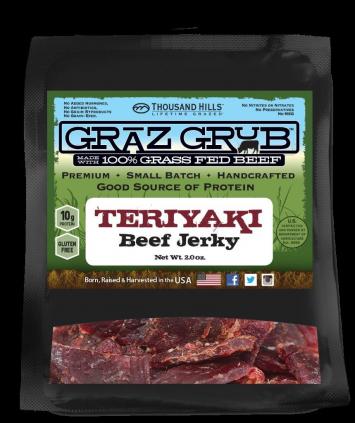 Teriyaki Beef Jerky - Case
