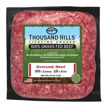 85% Lean Ground Beef Bricks - Case