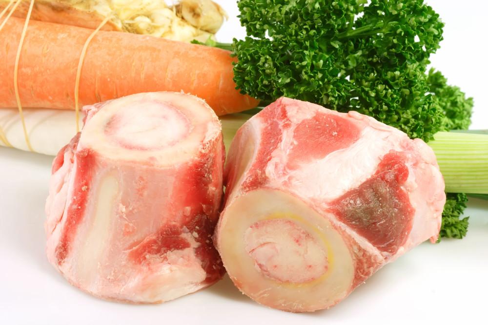 Grass-fed beef soup bones