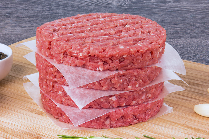Ground Beef Patties - 1/3 pound