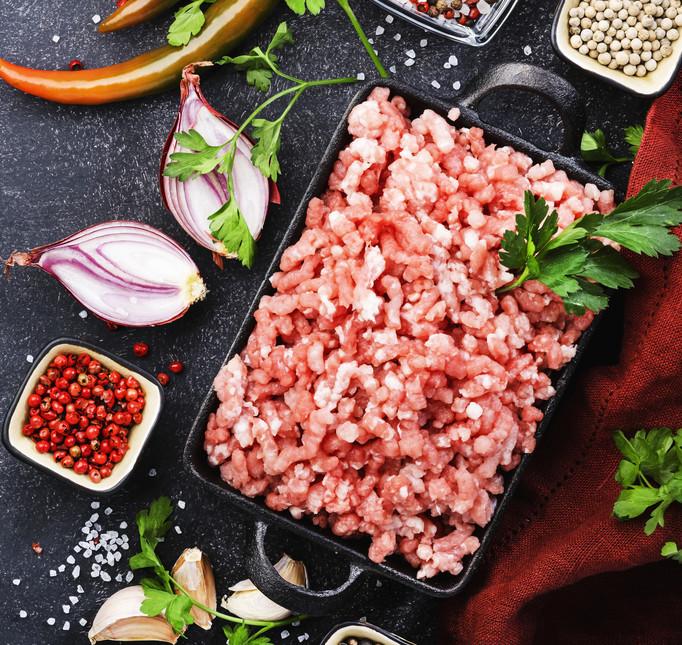 Pork Hot Italian Sausage - Bulk