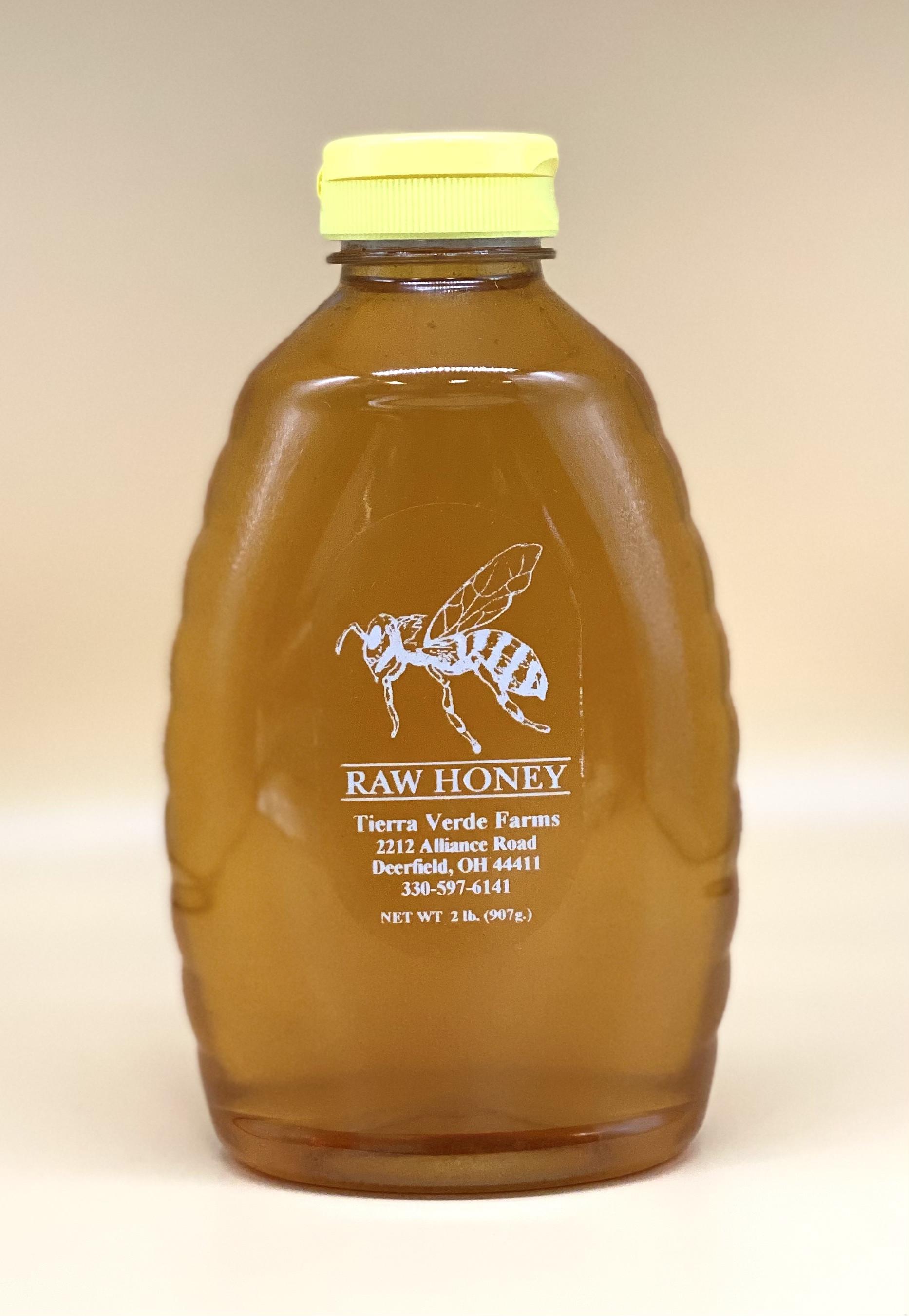 Raw Honey 2 Lb Bottle