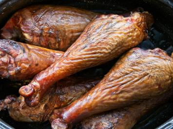 Smoked Turkey Drumsticks