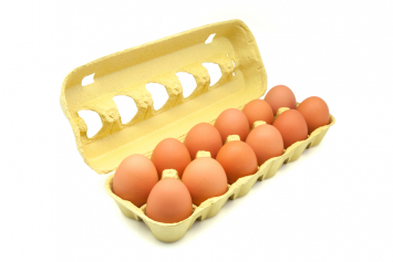 Case of Eggs in Cartons