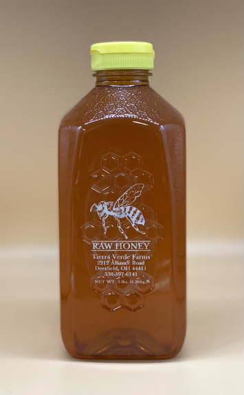 Raw Honey 3 Lb Bottle