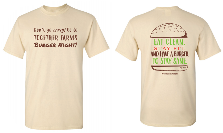 Tshirt: Burger Night, Small