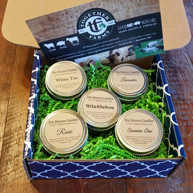 Gift Box, Candle Lovers