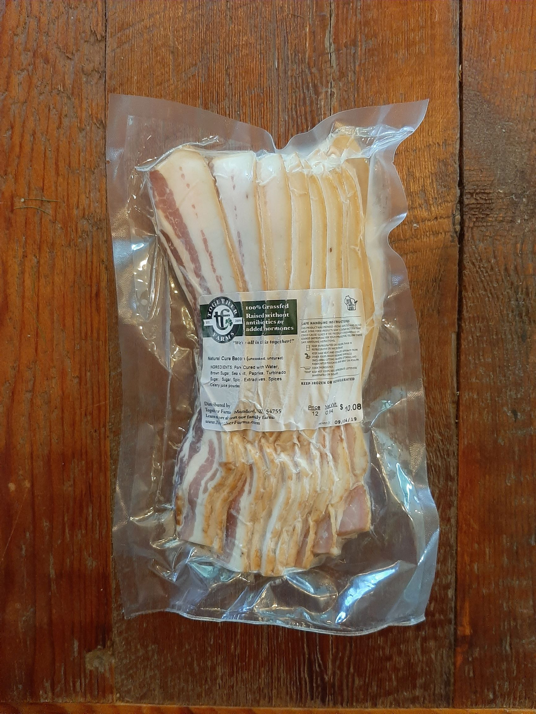 Naturally Cured Bacon