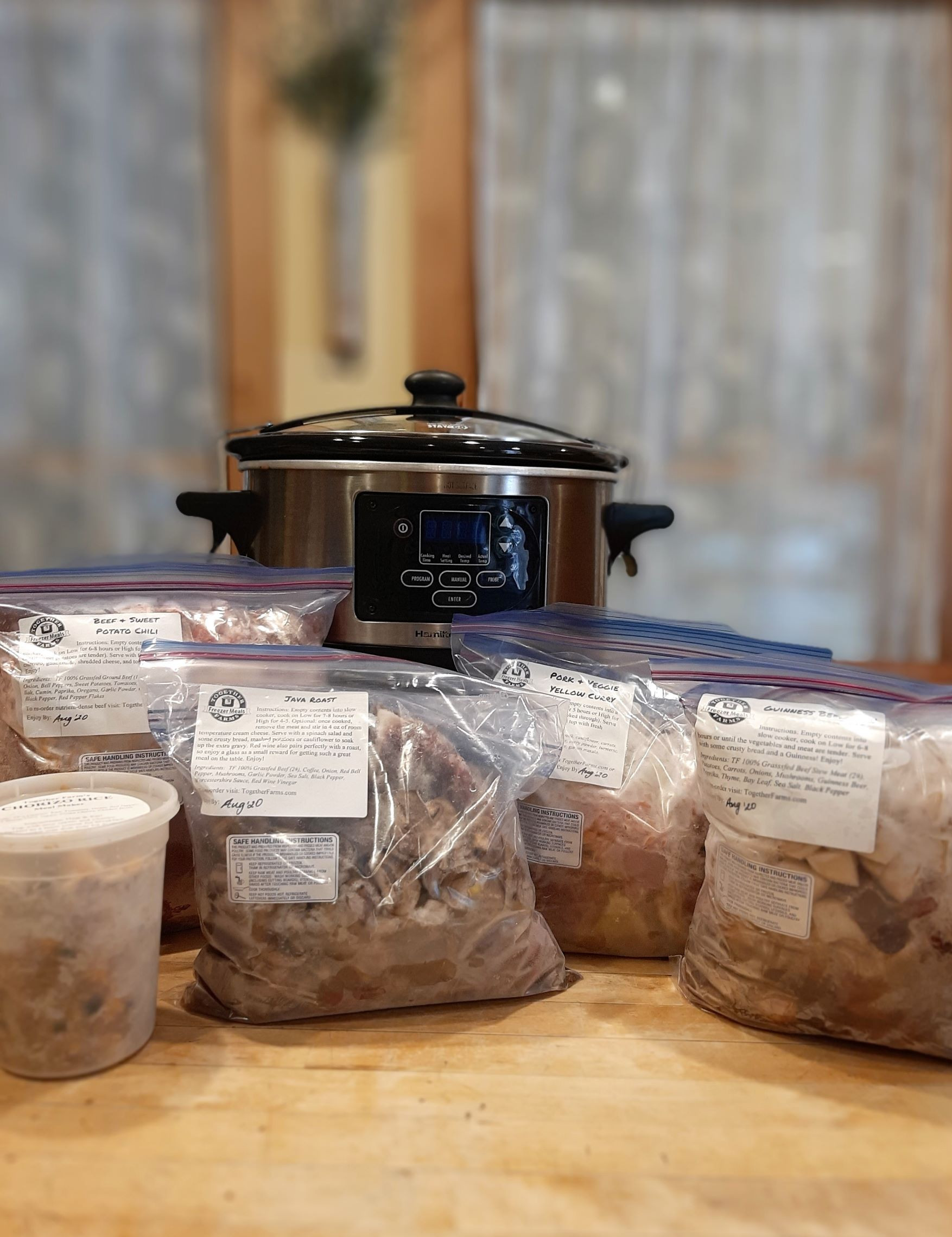 Farm Club Meal Kits Box