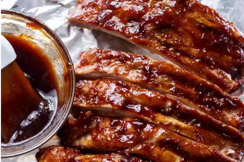 Slow Cooker Barbequed Spareribs