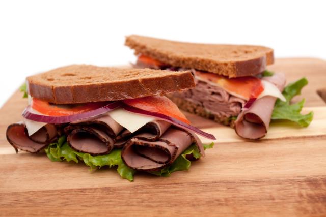 Deluxe Roast Beef Sandwich