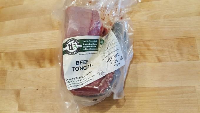 Beef, Organs, Tongue