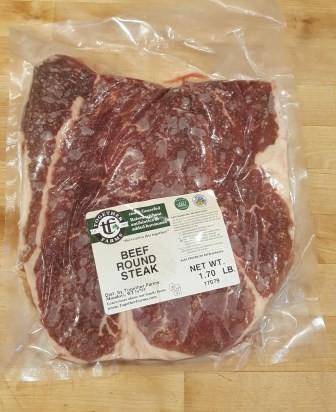 Beef, Steak, Round
