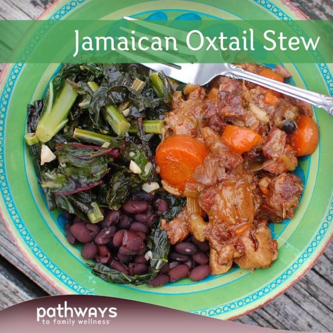 Freezer Meal, Jamaican Oxtail Stew
