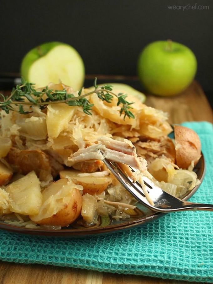 Freezer Meal, Jerk Pork & Sweet Potatoes