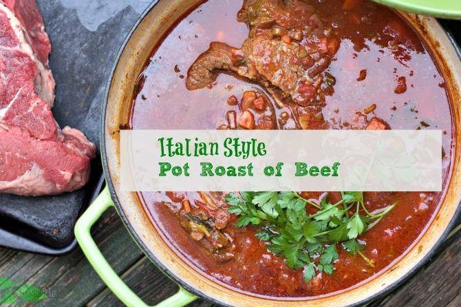 Freezer Meal, Italian-Style Pot Roast: Medium