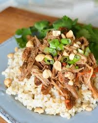Slow Cooker Meal Kit, Asian Peanut Butter Pork
