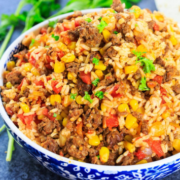 Meal Maker, Mexican Chorizo Rice