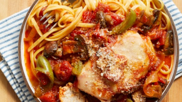 Slow Cooker Meal Kit, Pork Cacciatore