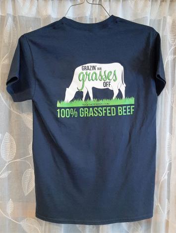 Tshirt: Grazin' Grasses, 2XL