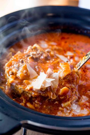 Slow Cooker Meal Kit, Lasagna Soup