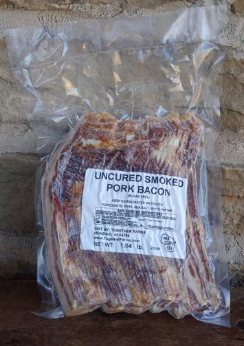 Sugar-Free Uncured Bacon