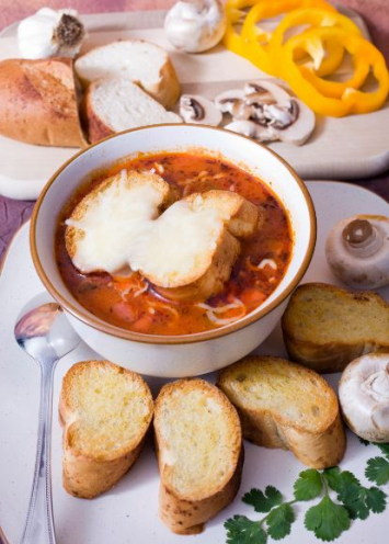 Pizza Soup Meal Kit