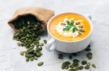 Roasted Winter Veggie Soup