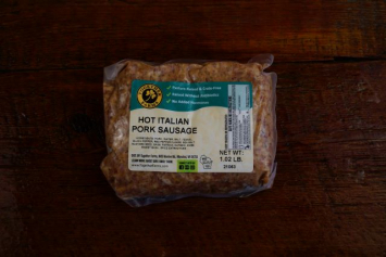 Hot Italian Sausage (Sugar Free)