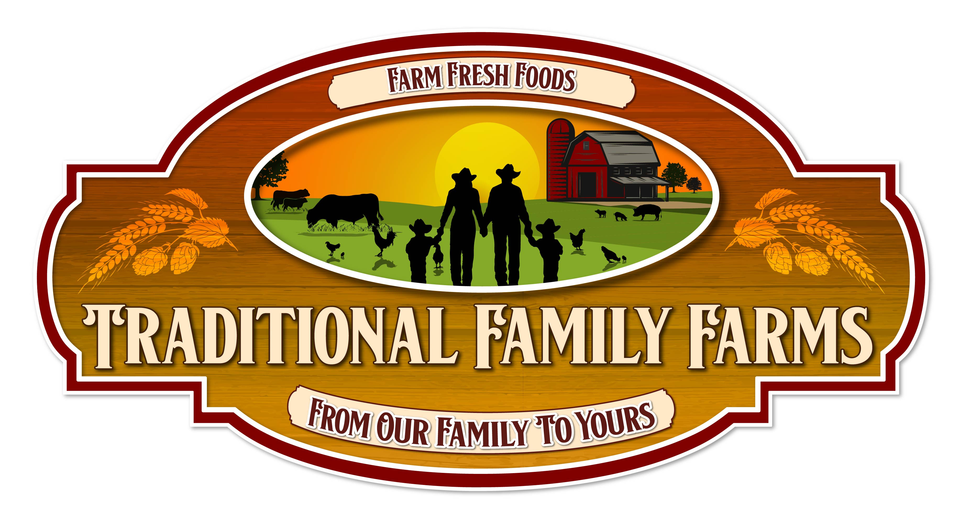 Traditional Family Farms Logo