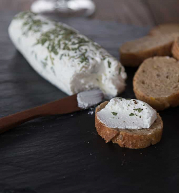 """Dairy- Chevre Goat Cheese """"Everything Bagel"""""""