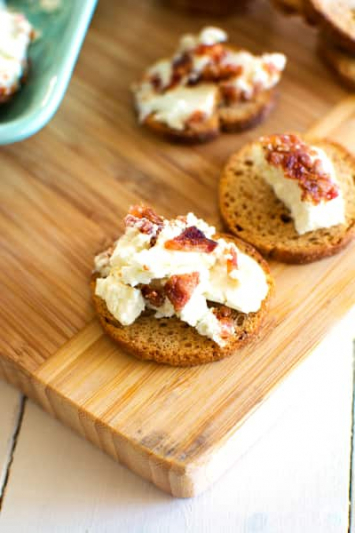 """Dairy- Chevre Goat Cheese """"Bacon Ranch"""""""