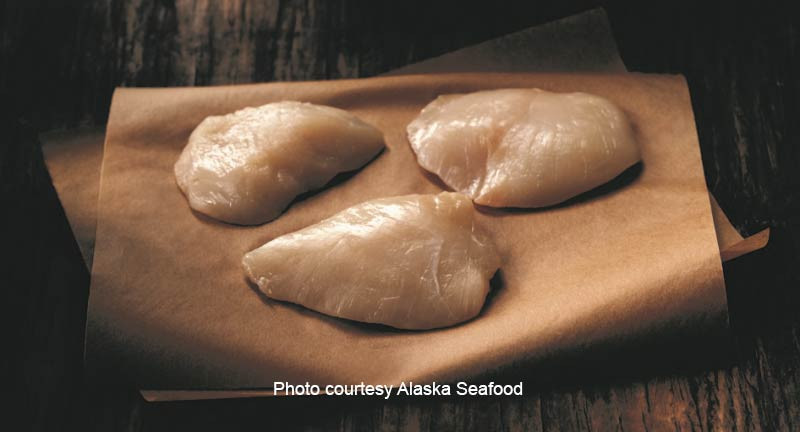 Halibut Cheeks - Wild Alaskan
