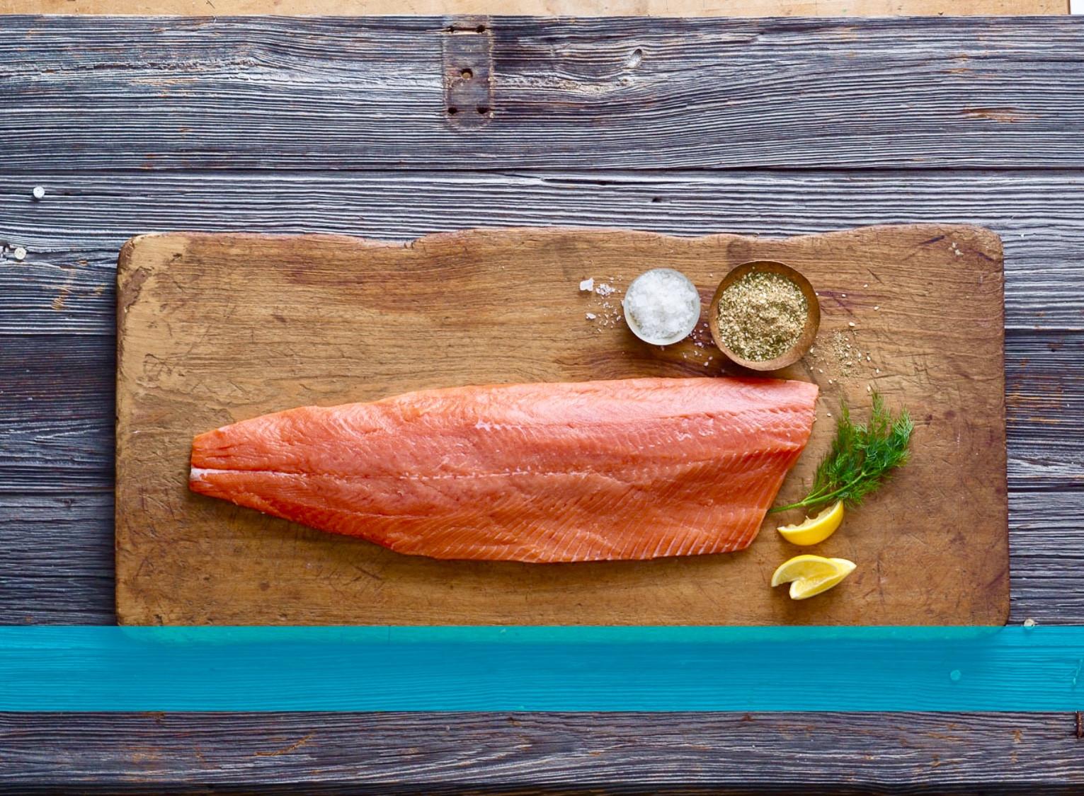Coho Salmon Portion