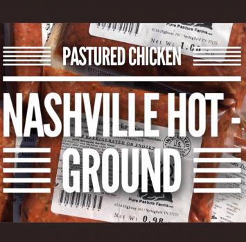 Pastured Chicken Nashville Hot Sausage