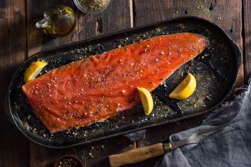 Keta Salmon Side - Wild Alaskan