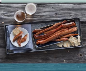 Smoked Salmon Strips - Wild Alaskan