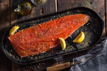 Coho Salmon Filets