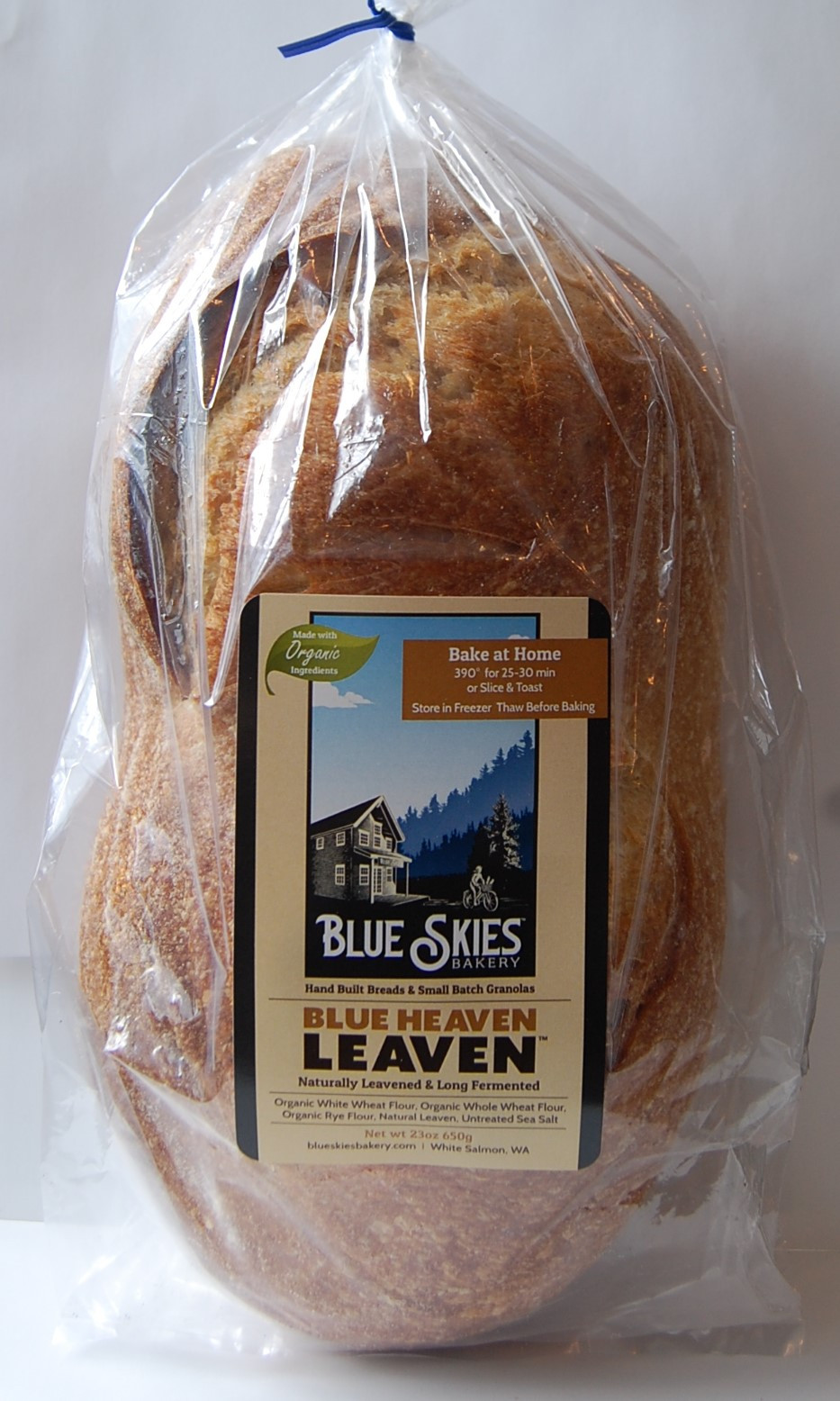 Blue Skies Sourdough Bread