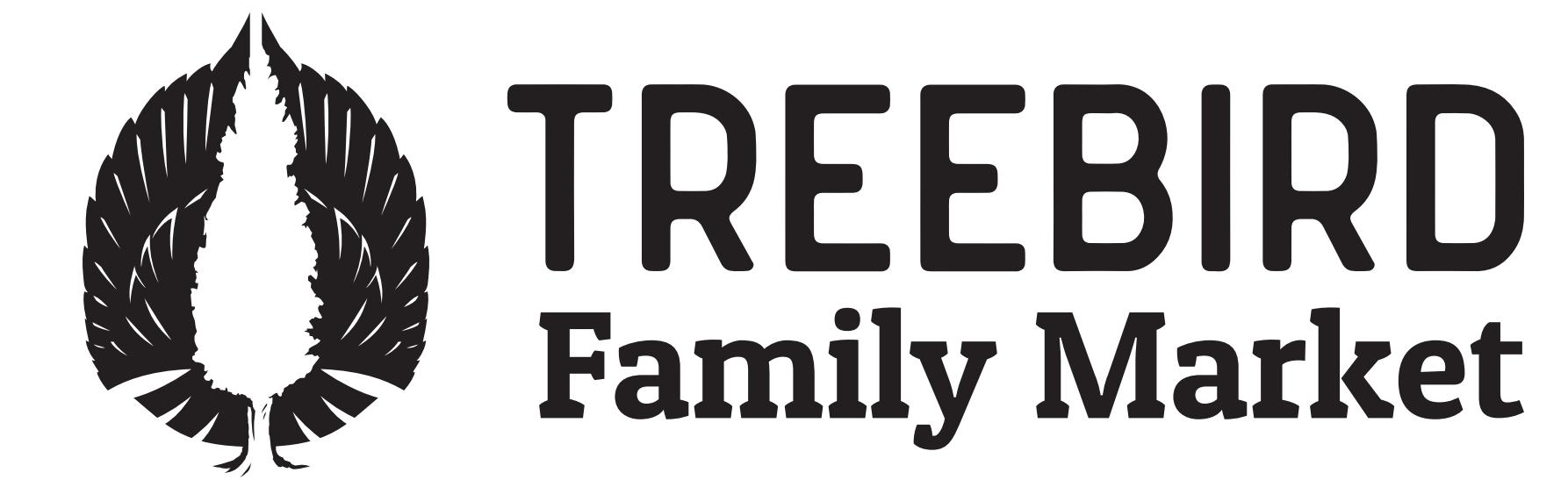 Treebird Family Market Logo