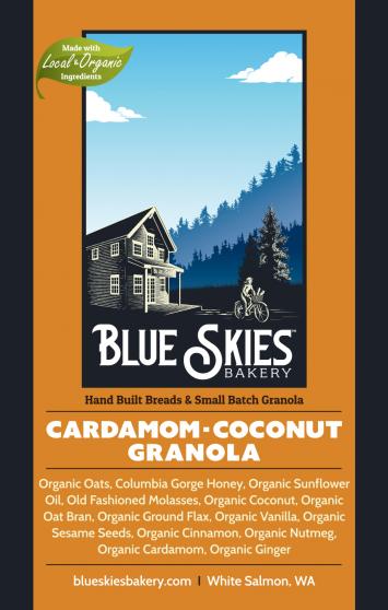 Cardamom-Coconut Granolas